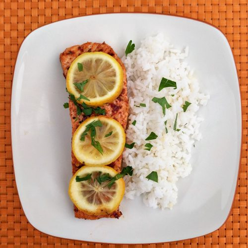 honey lemon salmon final overview