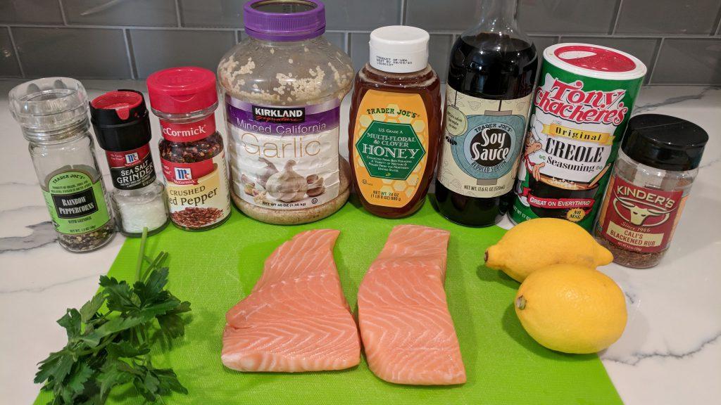 honey lemon salmon ingredients