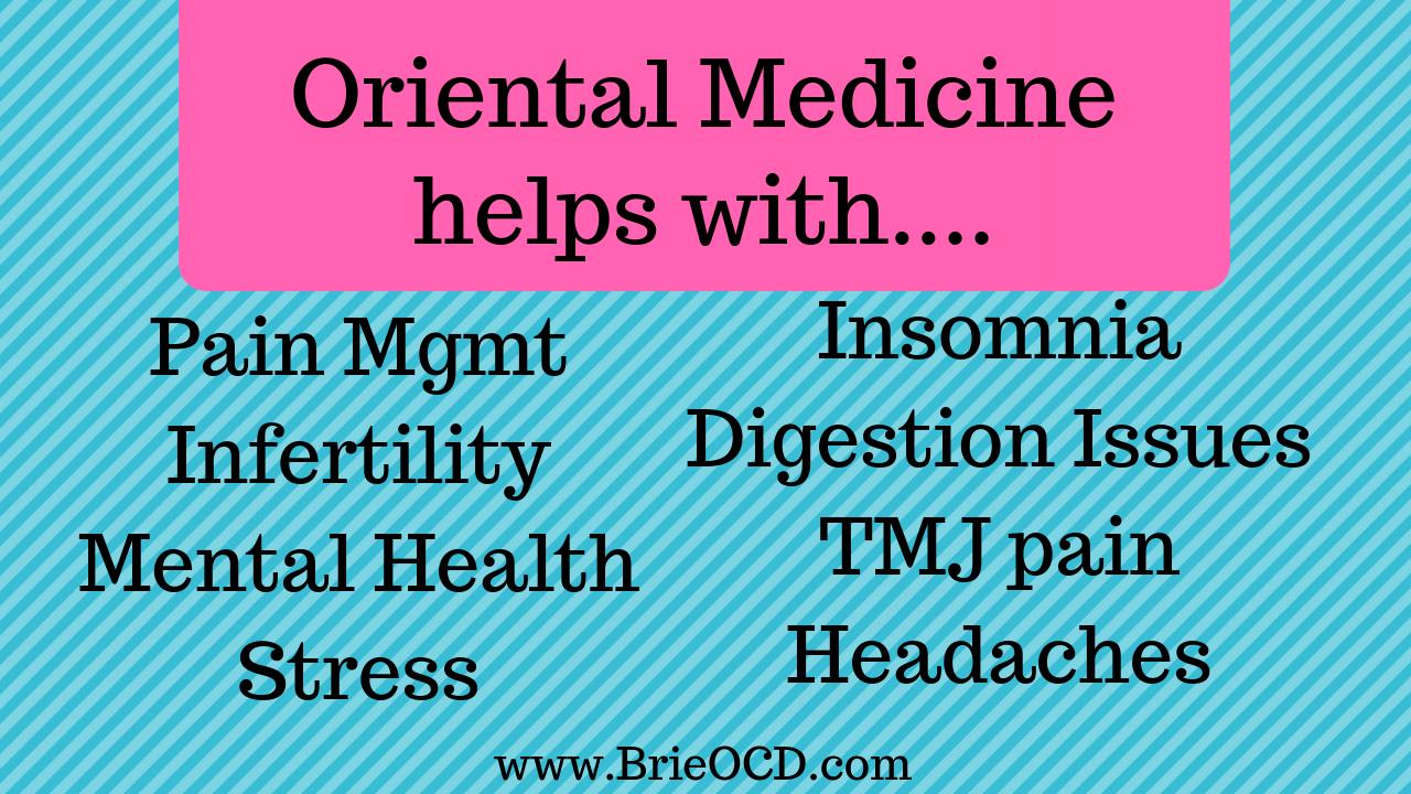 oriental medicine helps