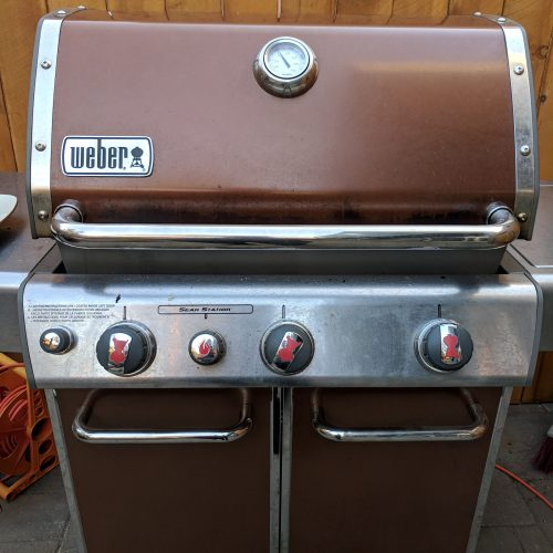 preheat grill to 375 400