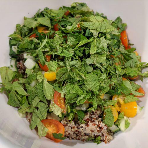quinoa salad combine all ingredients