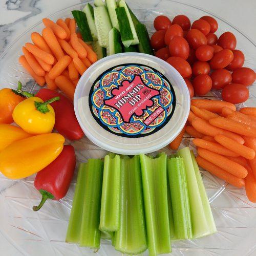 veggie platter circle