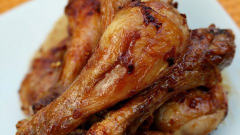 Air Fryer: Teriyaki Chicken Wings