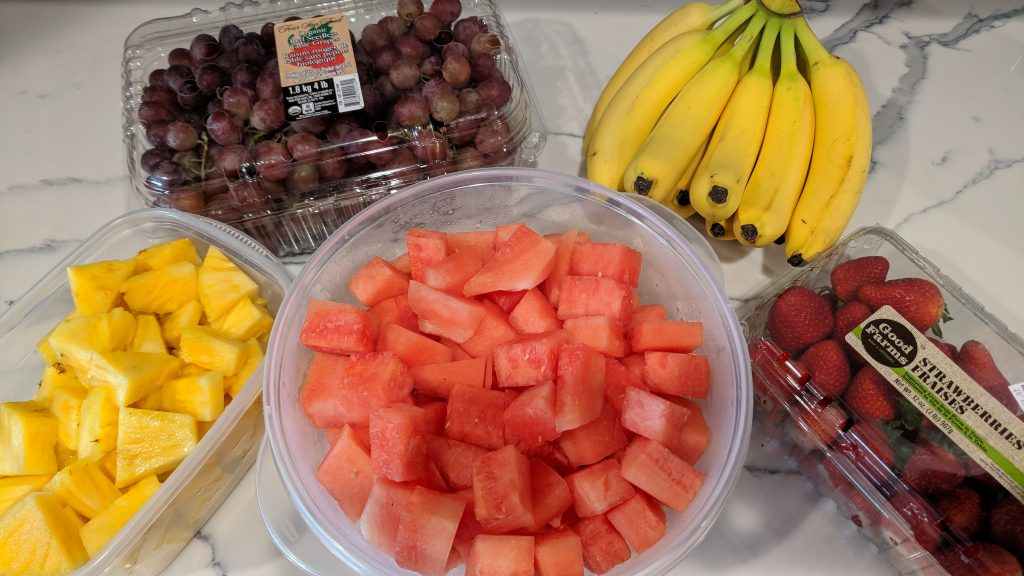 fruit platter ingredients