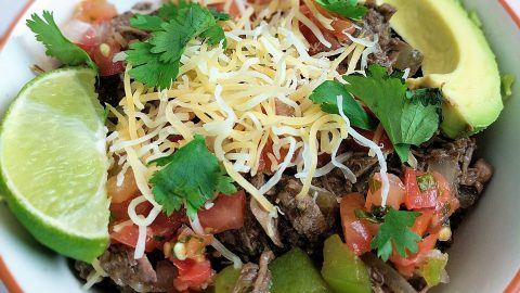 Crock-Pot: Barbacoa Bowls (Chipotle Copy)