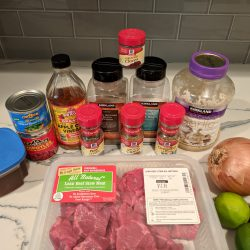 barbacoa bowls ingredients square