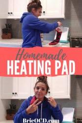 how to make your own homemade heating pad