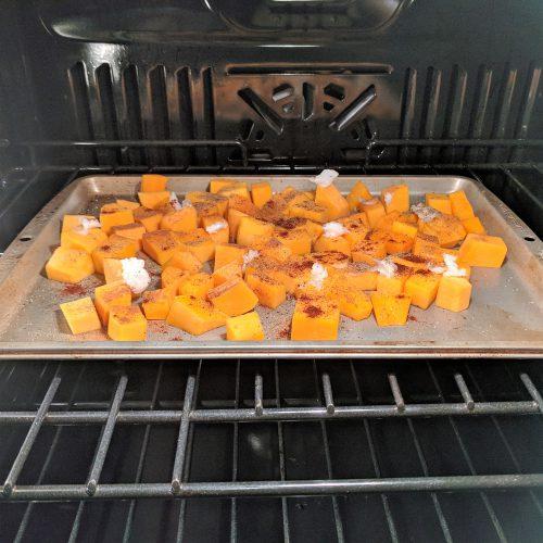 lindsays butternut squash bake at 400