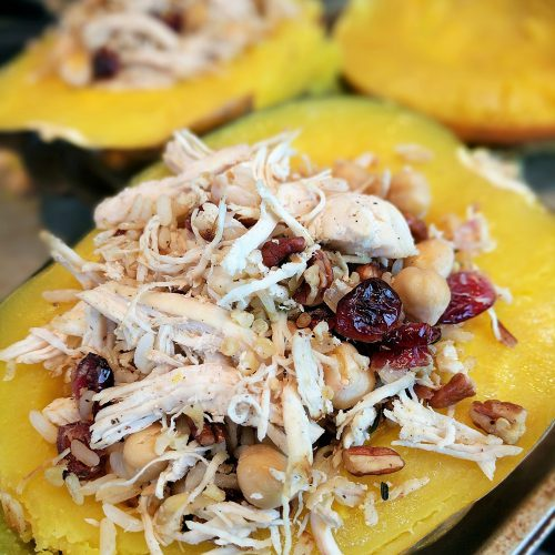 stuffed acorn squash stuff squash halves with mixture v2