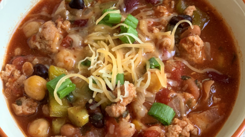 Crock-Pot: 4 Bean Chili