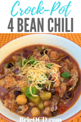 crock pot 4 bean chili