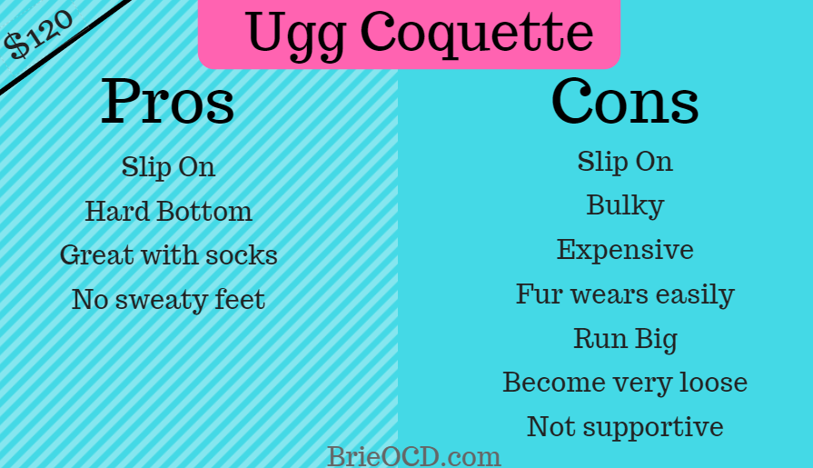 ugg coquette pros cons